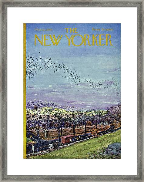 New Yorker October 21st 1967 Framed Print