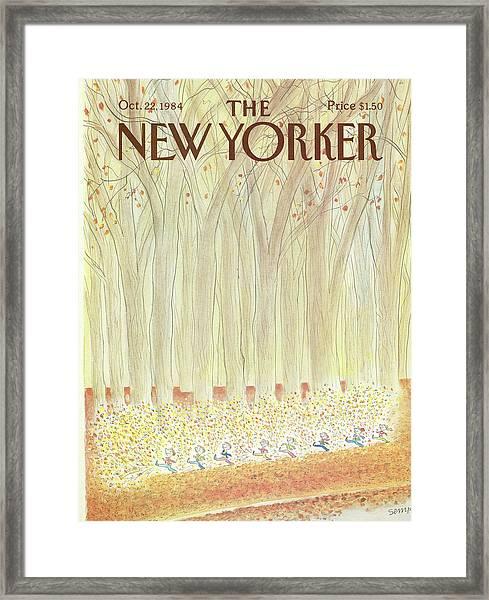 New Yorker October 22nd, 1984 Framed Print