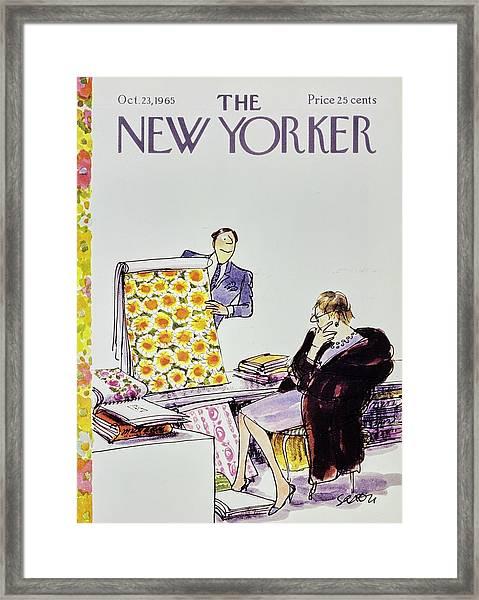 New Yorker October 23rd 1965 Framed Print