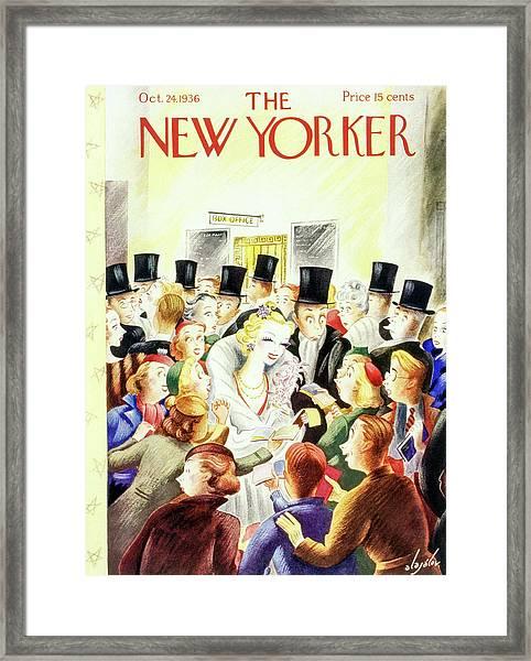 New Yorker October 24 1936 Framed Print