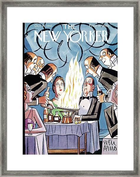 New Yorker October 24th, 1942 Framed Print