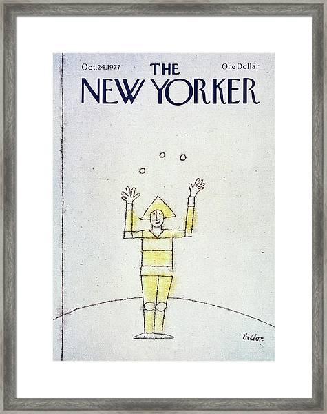 New Yorker October 24th 1977 Framed Print