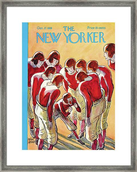 New Yorker October 27th, 1928 Framed Print