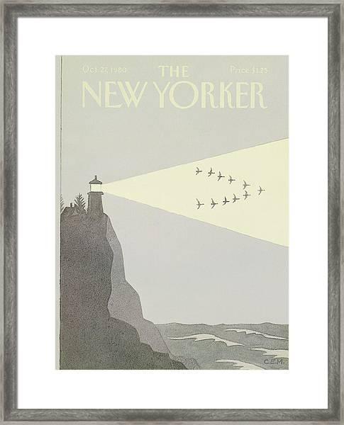 New Yorker October 27th, 1980 Framed Print