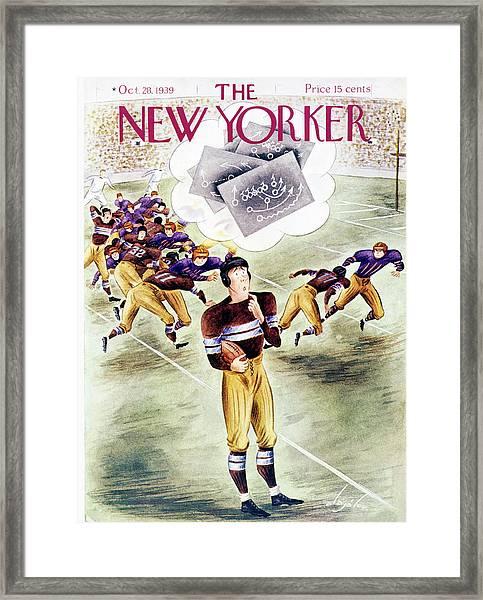 New Yorker October 28 1939 Framed Print