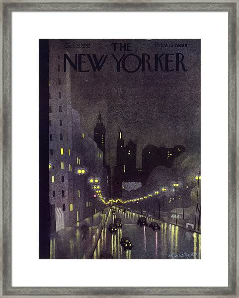 New Yorker October 29 1932 Framed Print
