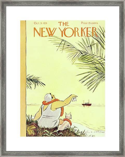 New Yorker October 31 1931 Framed Print