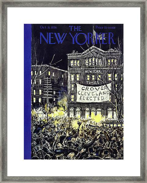 New Yorker October 31 1936 Framed Print