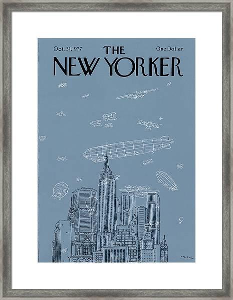 New Yorker October 31st, 1977 Framed Print