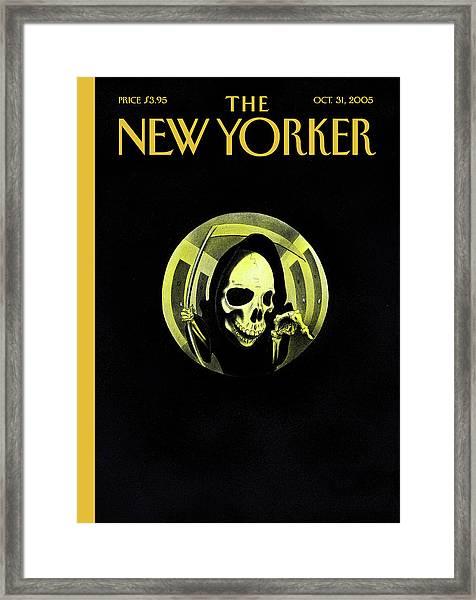 New Yorker October 31st, 2005 Framed Print