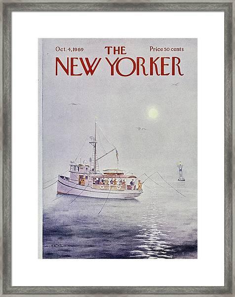 New Yorker October 4th 1969 Framed Print