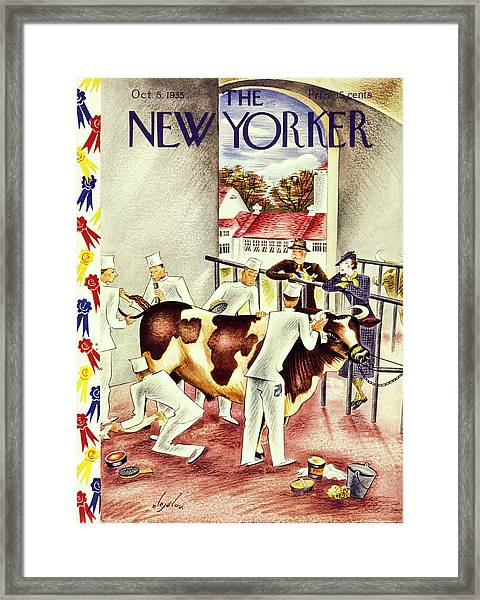 New Yorker October 5 1935 Framed Print