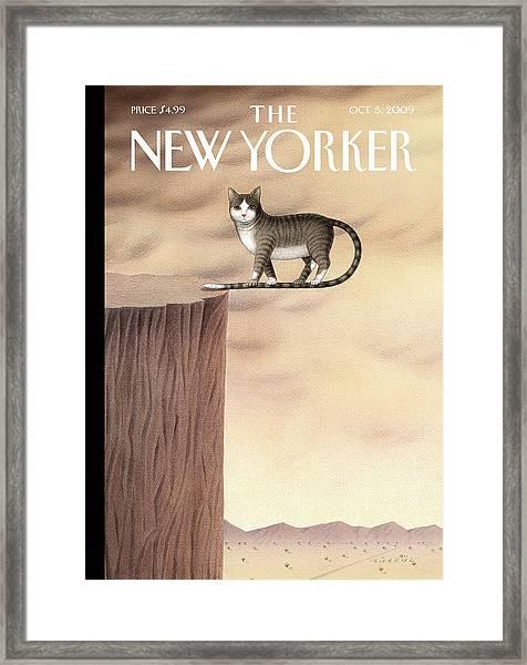 New Yorker October 5th, 2009 Framed Print