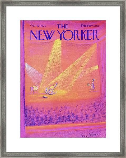 New Yorker October 6th 1975 Framed Print