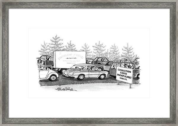 New Yorker October 6th, 1986 Framed Print
