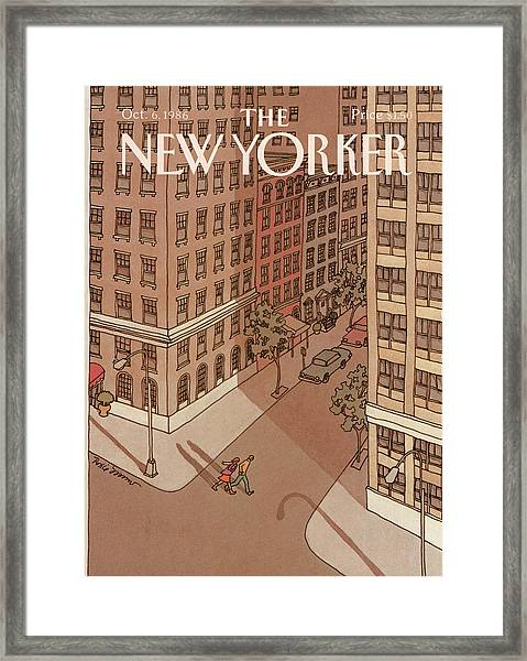 New Yorker October 6th, 1986 Framed Print