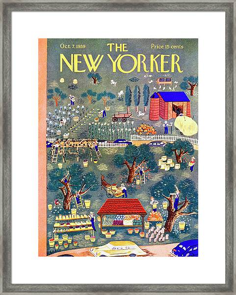 New Yorker October 7 1939 Framed Print