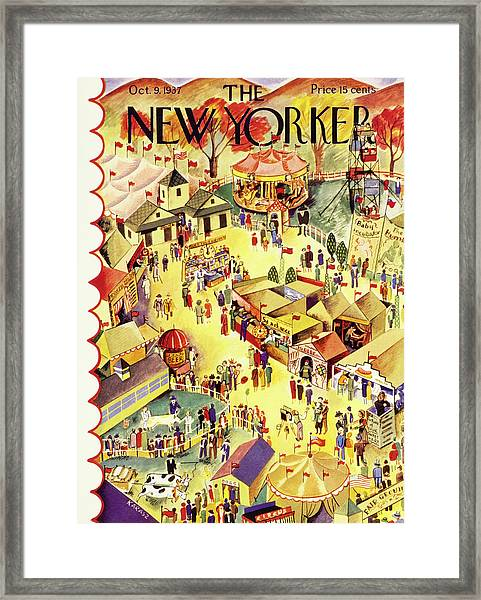 New Yorker October 9 1937 Framed Print