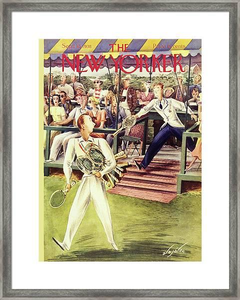 New Yorker September 10 1938 Framed Print