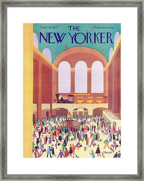 New Yorker September 10th, 1927 Framed Print