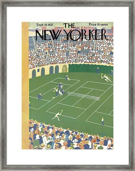 New Yorker September 10th, 1932 Framed Print