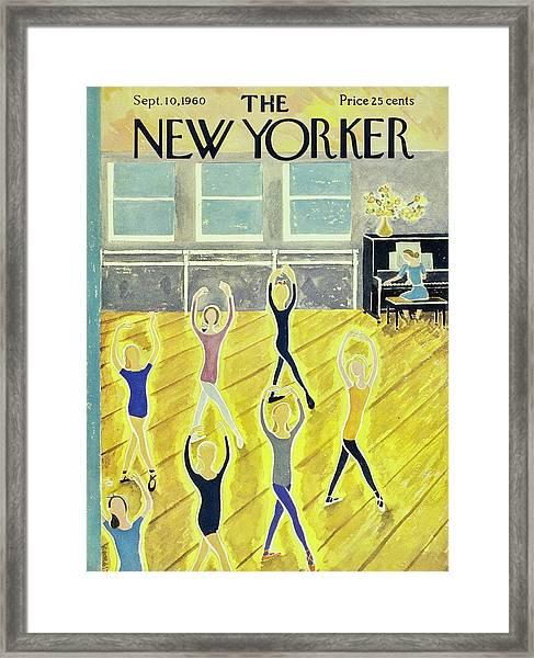 New Yorker September 10th 1960 Framed Print