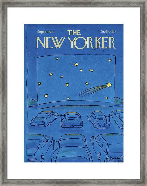 New Yorker September 11th, 1978 Framed Print