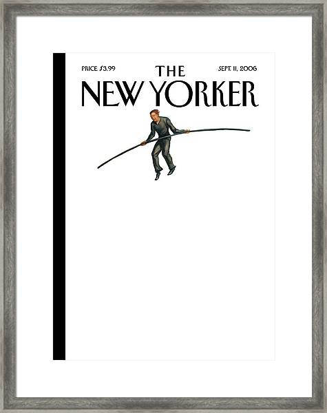 New Yorker September 11th, 2006 Framed Print
