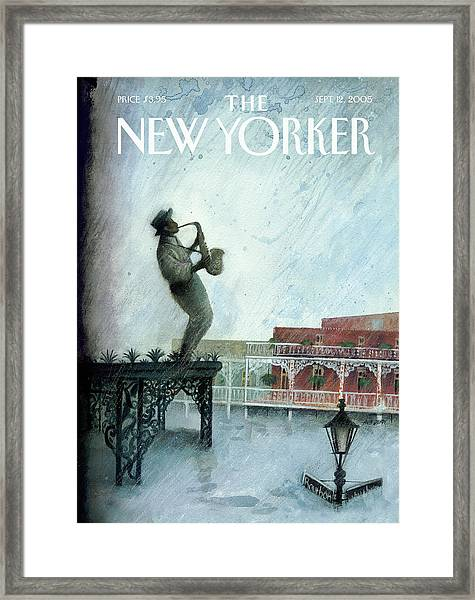 New Yorker September 12th, 2005 Framed Print