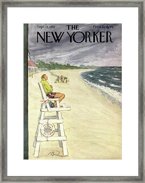 New Yorker September 13th, 1952 Framed Print