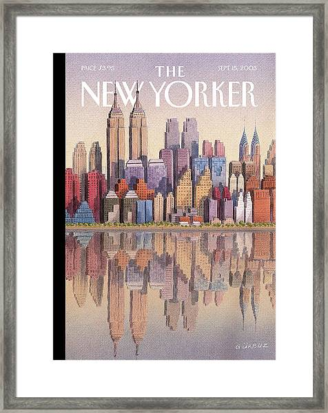 New Yorker September 15th, 2003 Framed Print