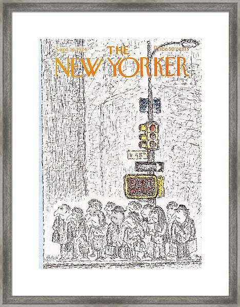New Yorker September 16th, 1974 Framed Print