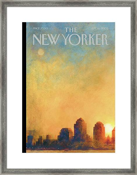 New Yorker September 16th, 2002 Framed Print