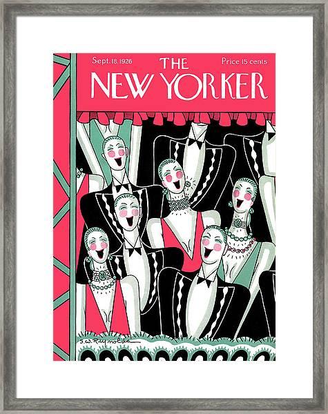 New Yorker September 18th, 1926 Framed Print