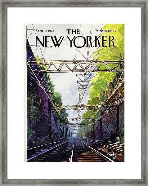 New Yorker September 18th 1971 Framed Print