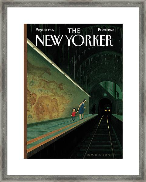 New Yorker September 18th, 1995 Framed Print by Eric Drooker