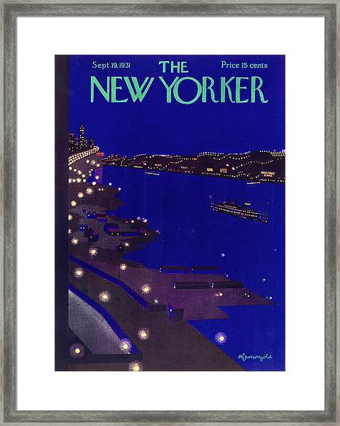 New Yorker September 19 1934 Framed Print
