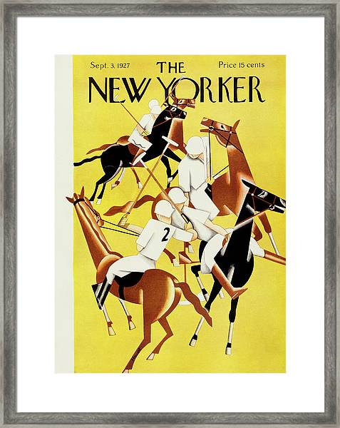 New Yorker September 2 1927 Framed Print