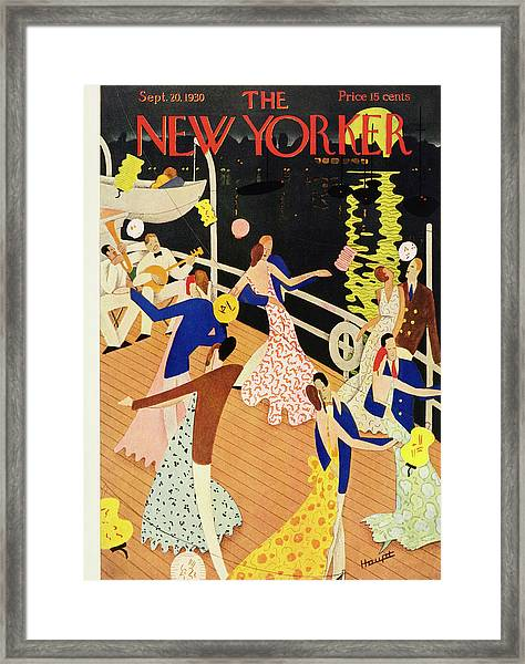 New Yorker September 20 1930 Framed Print by Theodore G. Haupt