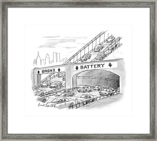 New Yorker September 20th, 1999 Framed Print