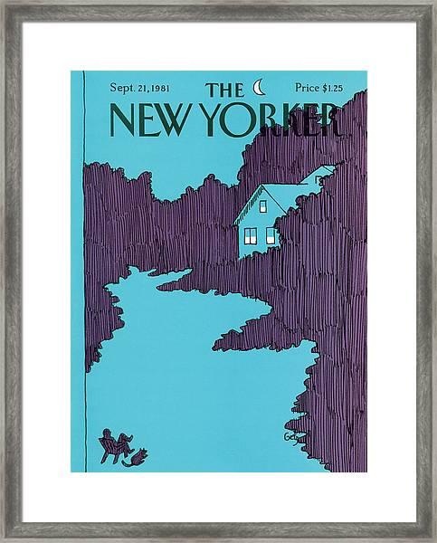 New Yorker September 21st, 1981 Framed Print