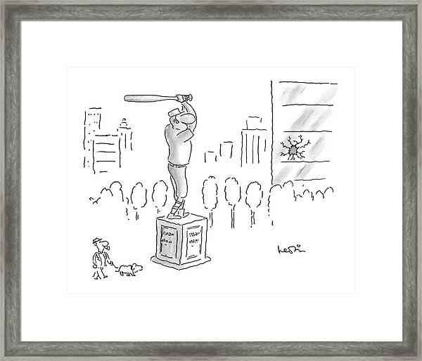 New Yorker September 22nd, 1986 Framed Print