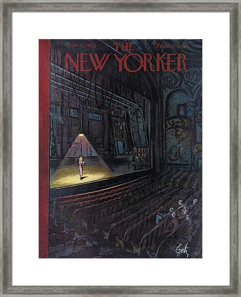 New Yorker September 23rd, 1950 Framed Print