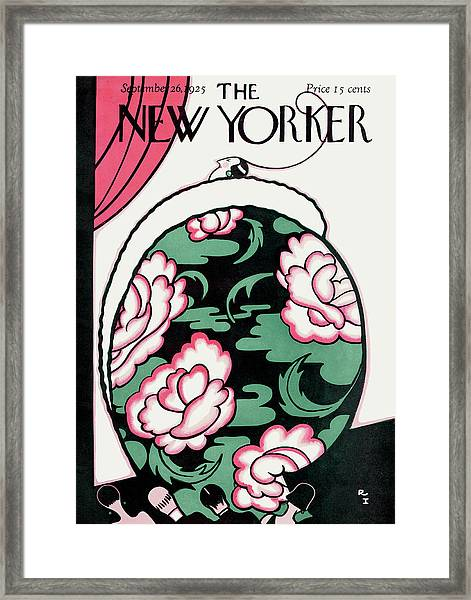 New Yorker September 26th, 1925 Framed Print
