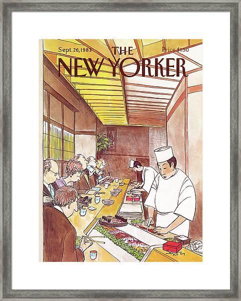 New Yorker September 26th, 1983 Framed Print