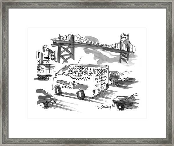New Yorker September 27th, 1999 Framed Print