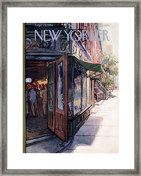 New Yorker September 29th, 1956 Framed Print