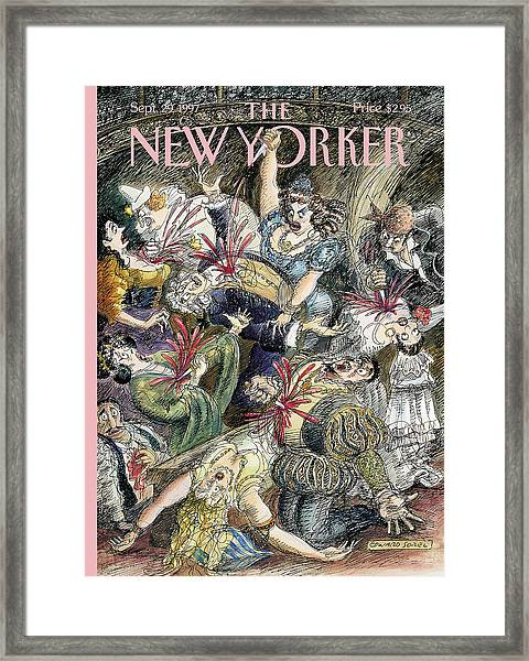 New Yorker September 29th, 1997 Framed Print