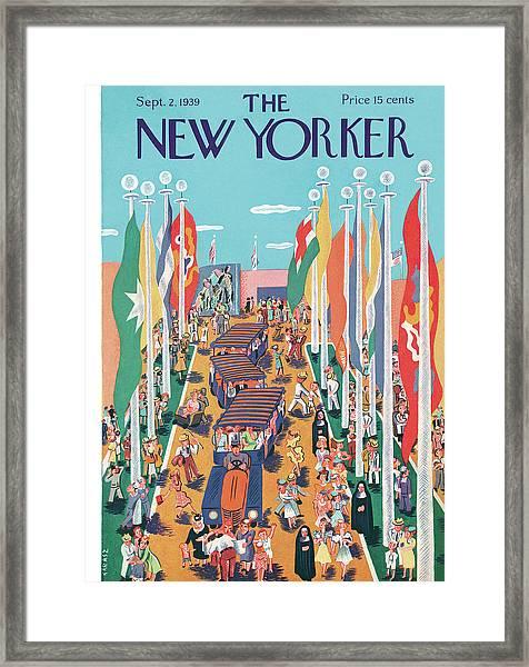 New Yorker September 2nd, 1939 Framed Print