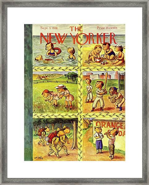 New Yorker September 3 1938 Framed Print